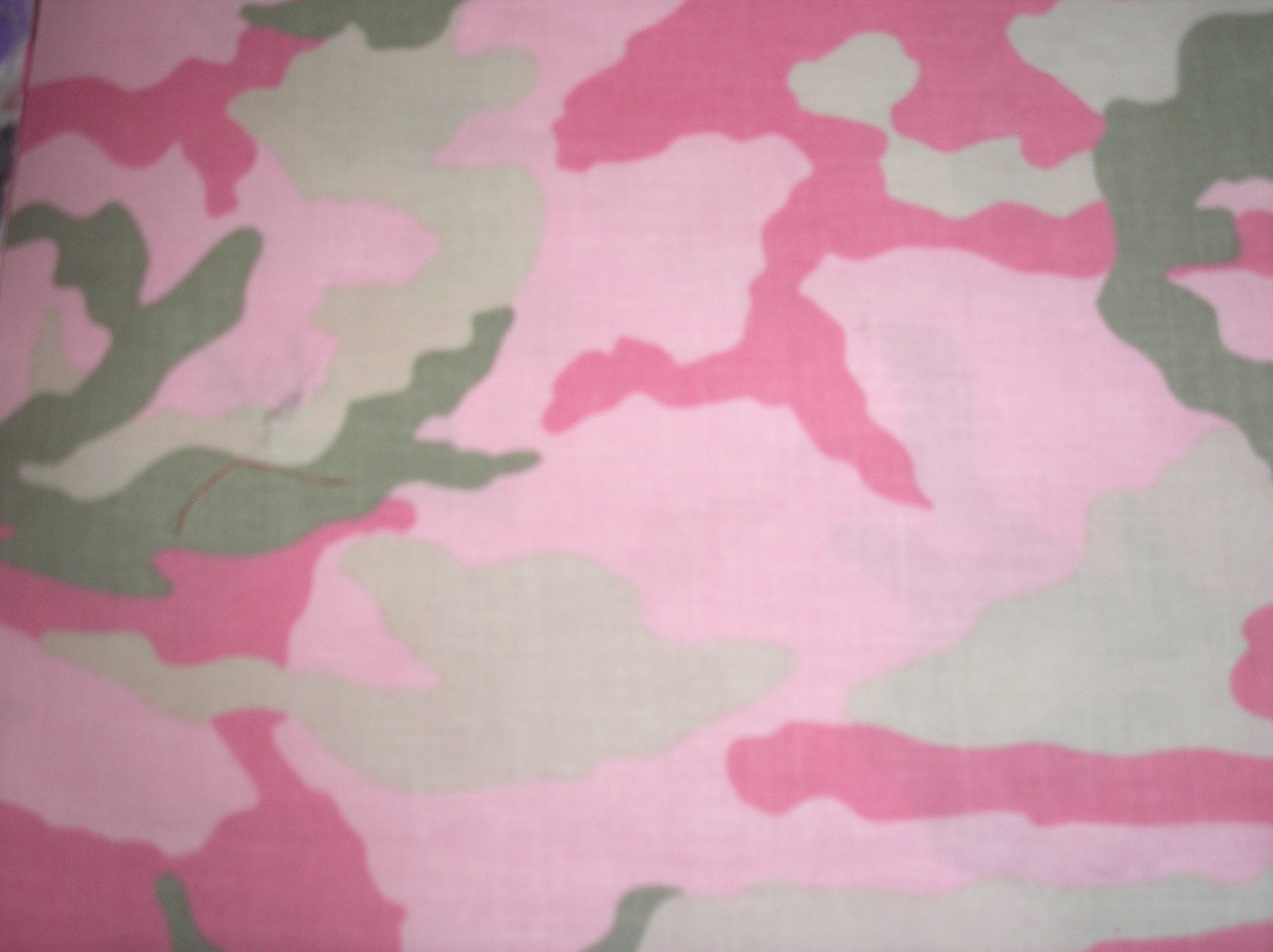Camouflage designs in many colors
