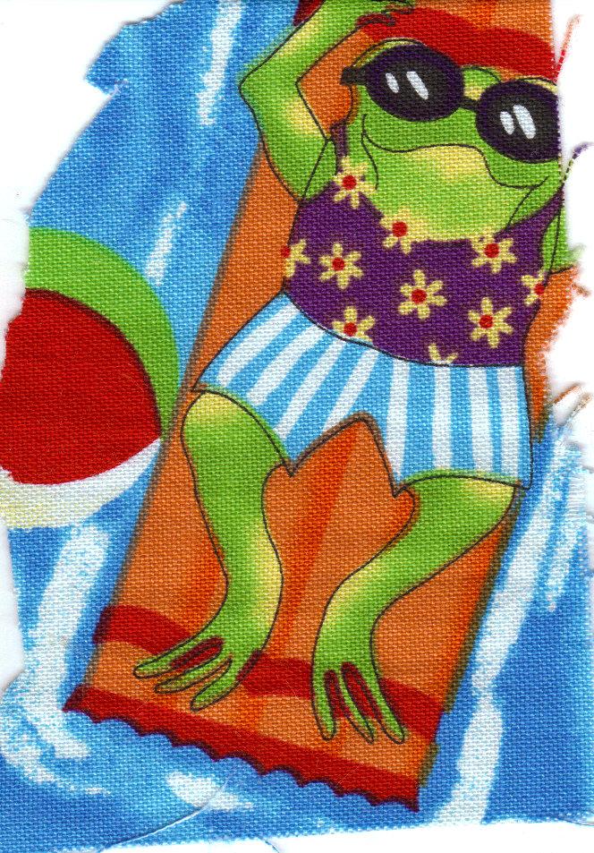 frogs water fun